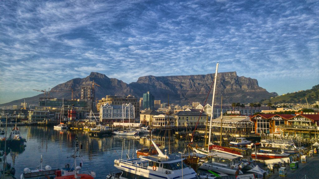 V and A Table Mountain