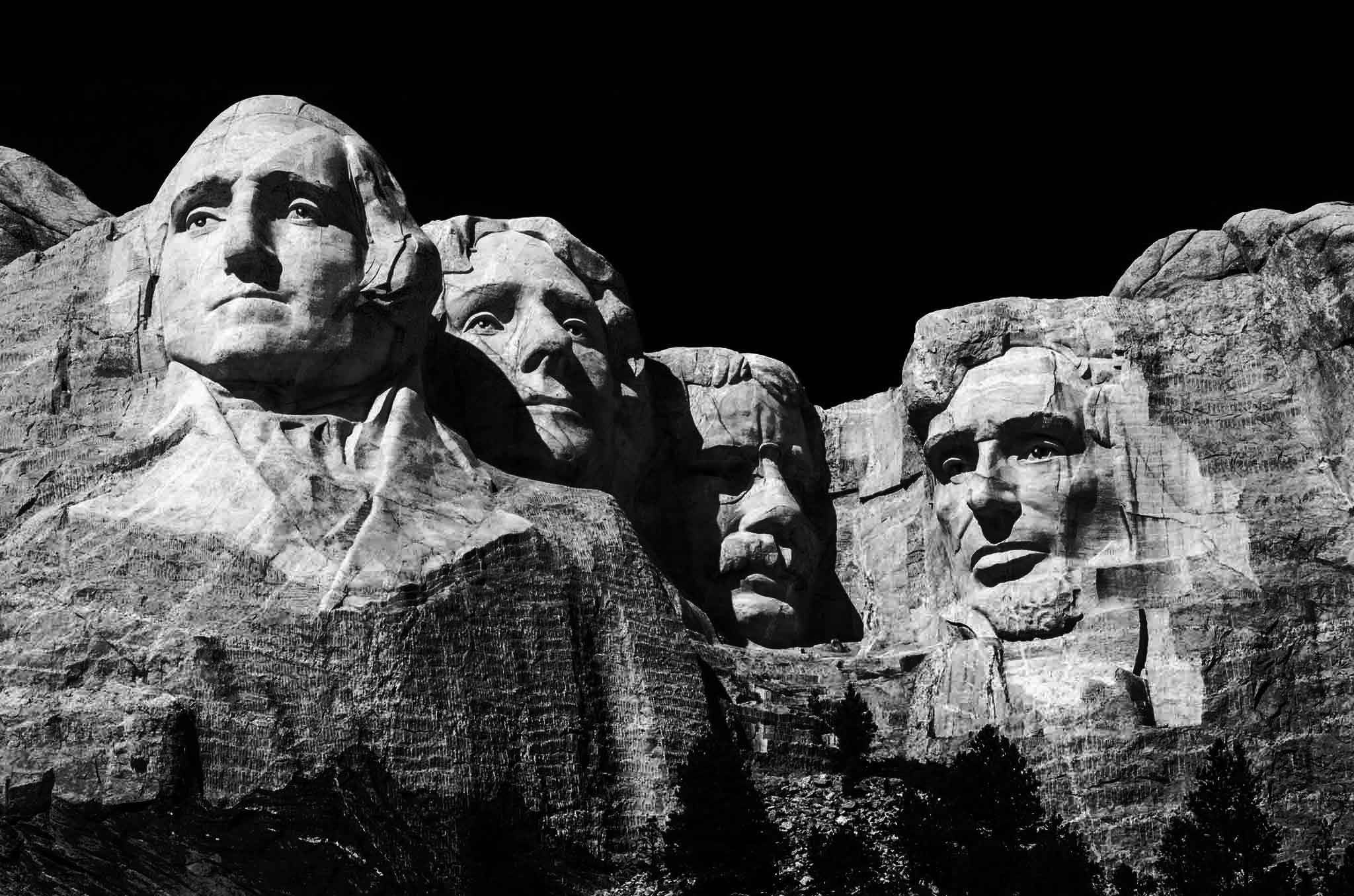 north american holiday mt. rushmore