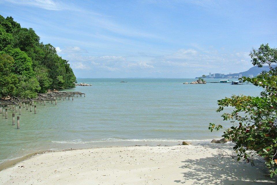Penang, Malaysia, National Park, Tropical, Beach
